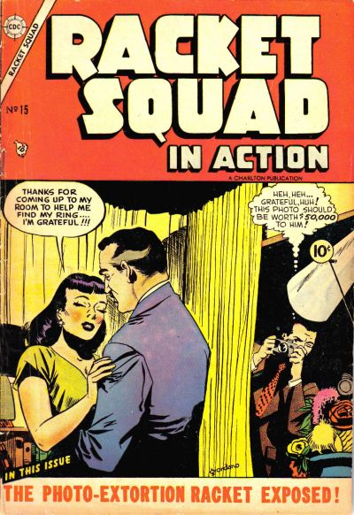 Cover for Racket Squad in Action (Charlton, 1952 series) #15