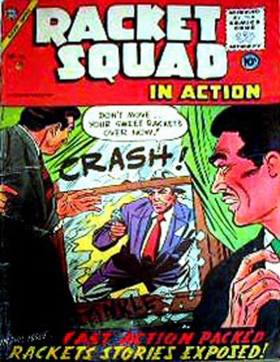 Cover for Racket Squad in Action (Charlton, 1952 series) #16