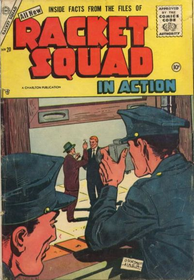 Cover for Racket Squad in Action (Charlton, 1952 series) #20