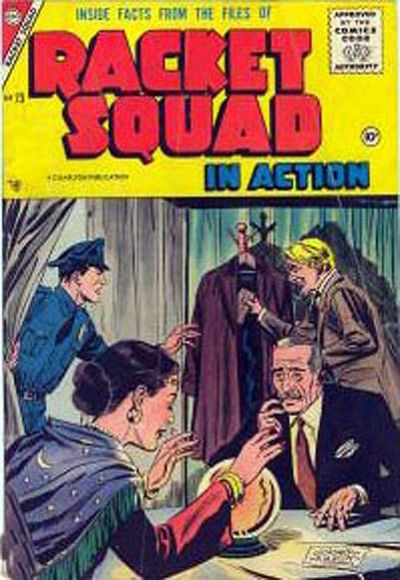 Cover for Racket Squad in Action (Charlton, 1952 series) #23