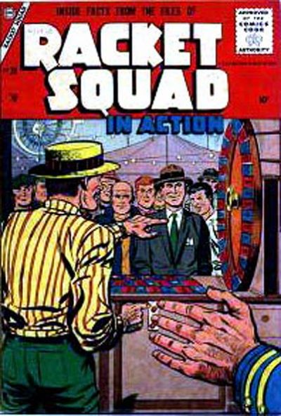 Cover for Racket Squad in Action (Charlton, 1952 series) #24