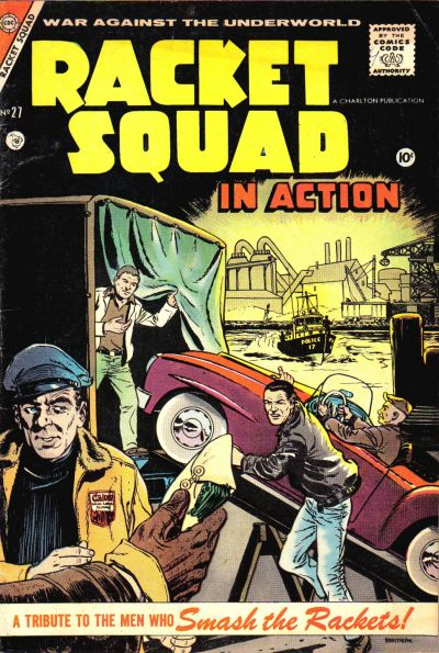 Cover for Racket Squad in Action (Charlton, 1952 series) #27