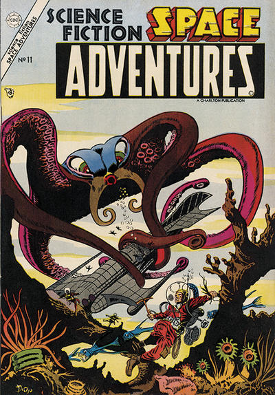 Cover for Space Adventures (Charlton, 1952 series) #11