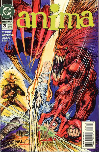 Cover for Anima (DC, 1994 series) #3