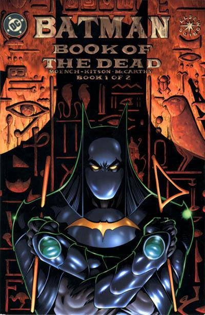 Cover for Batman: Book of the Dead (DC, 1999 series) #1