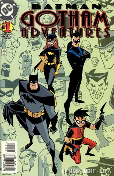 Cover for Batman: Gotham Adventures (DC, 1998 series) #1 [Direct Sales]