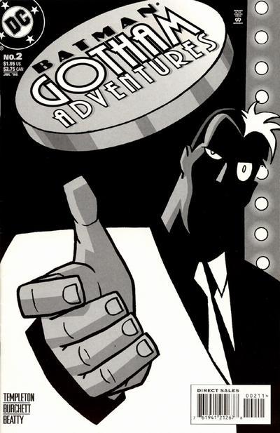 Cover for Batman: Gotham Adventures (DC, 1998 series) #2