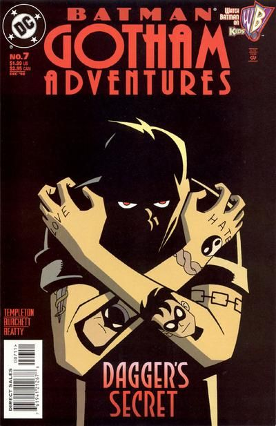 Cover for Batman: Gotham Adventures (DC, 1998 series) #7 [Direct Sales]
