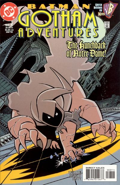 Cover for Batman: Gotham Adventures (DC, 1998 series) #8 [Direct Sales]