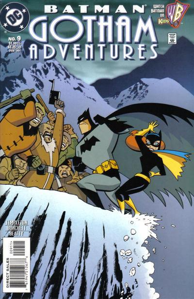 Cover for Batman: Gotham Adventures (DC, 1998 series) #9 [Direct Sales]