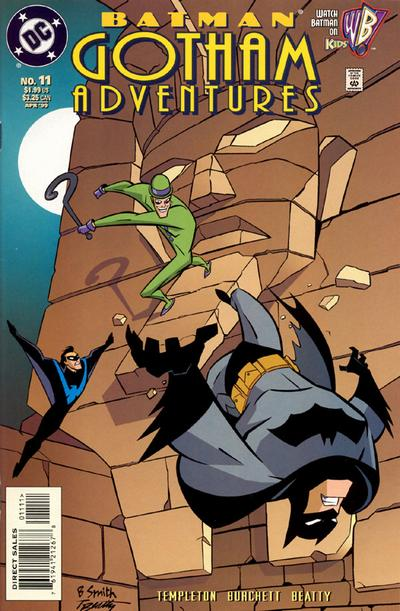 Cover for Batman: Gotham Adventures (DC, 1998 series) #11