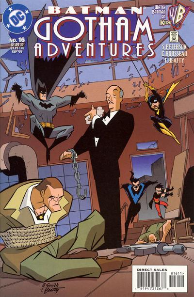 Cover for Batman: Gotham Adventures (DC, 1998 series) #16