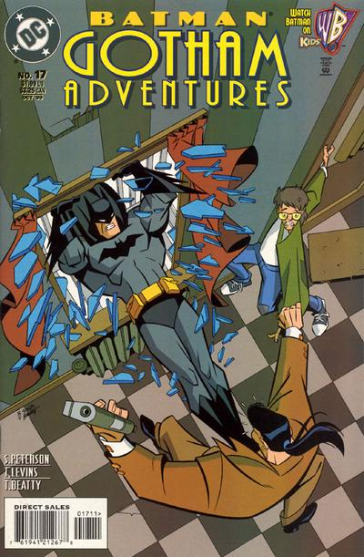 Cover for Batman: Gotham Adventures (DC, 1998 series) #17