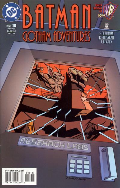 Cover for Batman: Gotham Adventures (DC, 1998 series) #18 [Direct Sales]