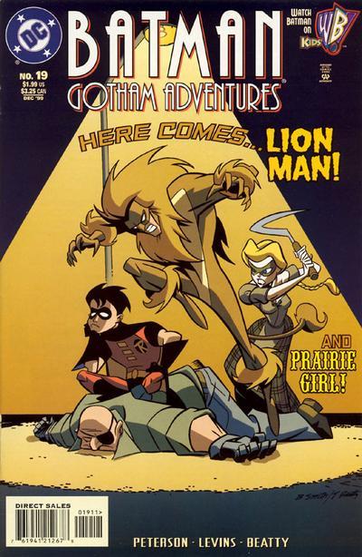 Cover for Batman: Gotham Adventures (DC, 1998 series) #19