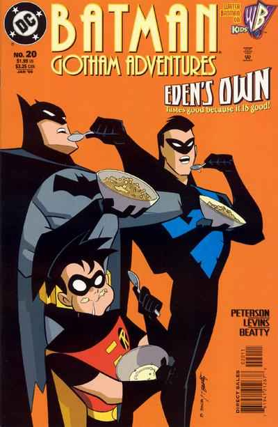 Cover for Batman: Gotham Adventures (DC, 1998 series) #20 [Direct Sales]
