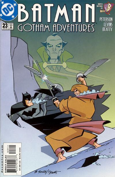 Cover for Batman: Gotham Adventures (DC, 1998 series) #23