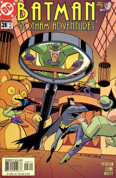 Cover for Batman: Gotham Adventures (DC, 1998 series) #28