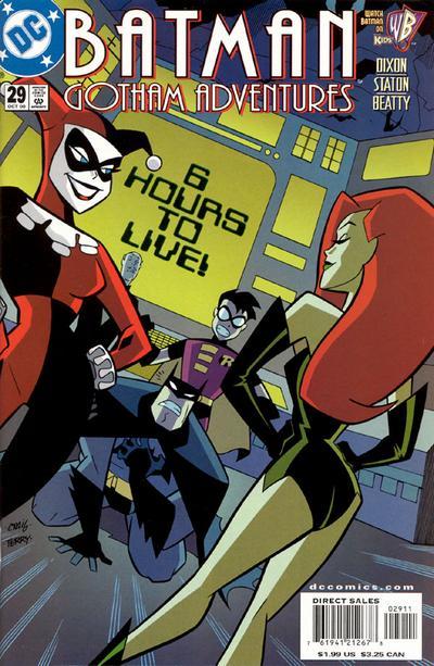 Cover for Batman: Gotham Adventures (DC, 1998 series) #29