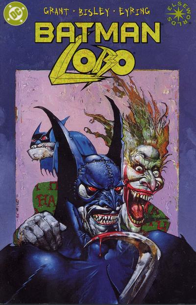 Cover for Batman / Lobo (DC, 2000 series)