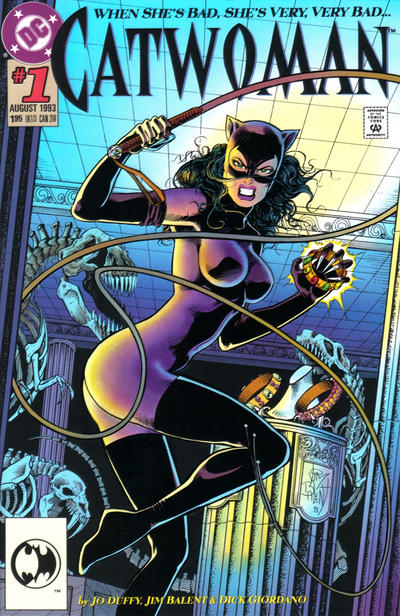 Cover for Catwoman (DC, 1993 series) #1 [Direct Edition]