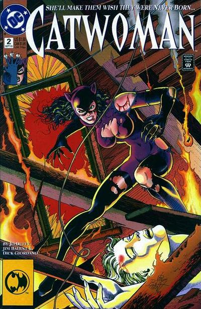 Cover for Catwoman (DC, 1993 series) #2 [Direct Edition]