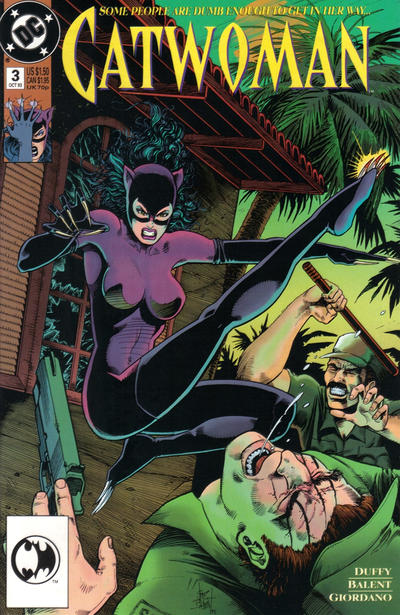 Cover for Catwoman (DC, 1993 series) #3 [Direct Edition]