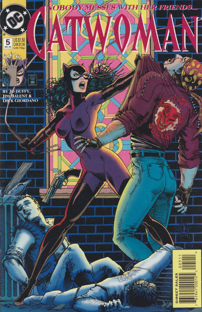 Cover for Catwoman (DC, 1993 series) #5 [Direct Edition]