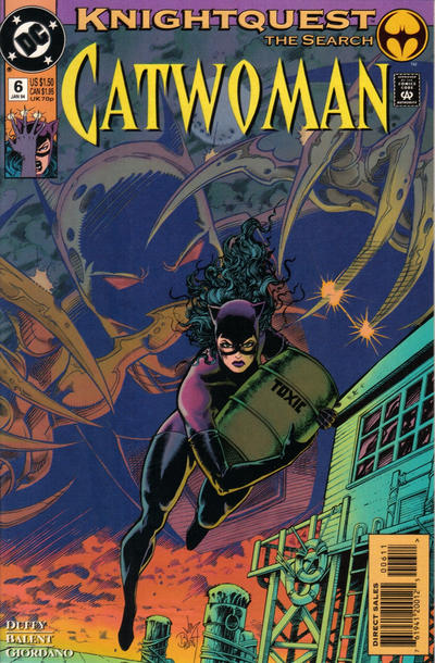 Cover for Catwoman (DC, 1993 series) #6 [Direct Edition]
