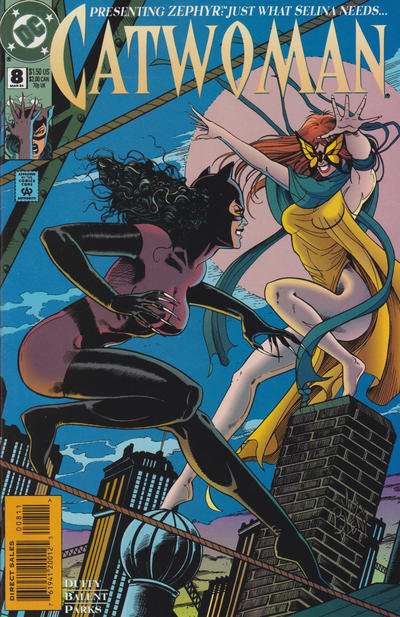 Cover for Catwoman (DC, 1993 series) #8 [Direct Edition]