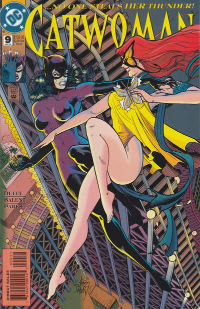 Cover for Catwoman (DC, 1993 series) #9 [Direct Edition]