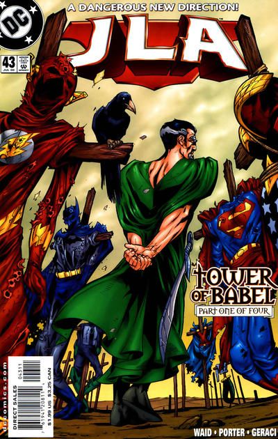 Cover for JLA (DC, 1997 series) #43