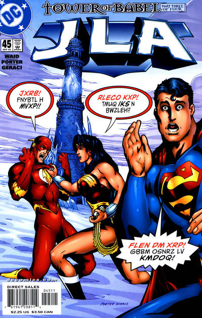 Cover for JLA (DC, 1997 series) #45