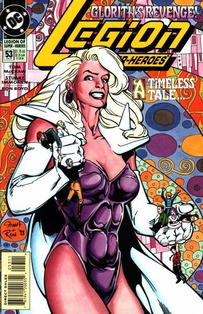Cover for Legion of Super-Heroes (DC, 1989 series) #53