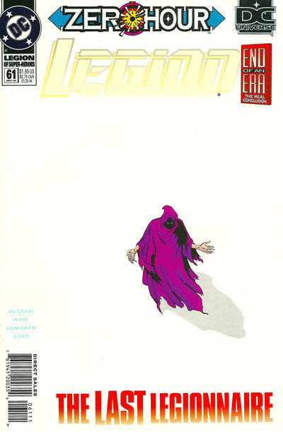 Cover for Legion of Super-Heroes (DC, 1989 series) #61
