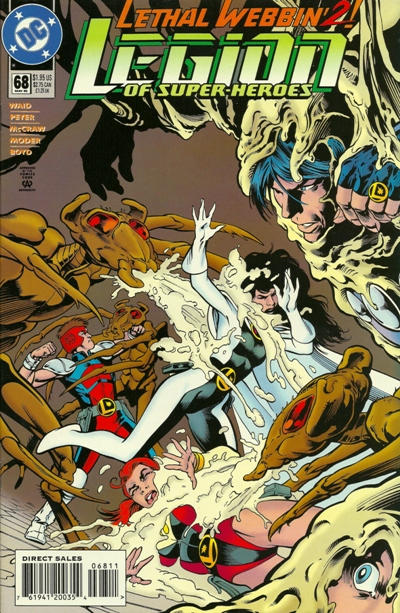 Cover for Legion of Super-Heroes (DC, 1989 series) #68