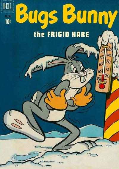 Cover for Four Color (Dell, 1942 series) #347 - Bugs Bunny, the Frigid Hare