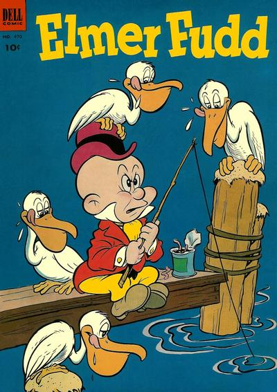 Cover for Four Color (Dell, 1942 series) #470 - Elmer Fudd