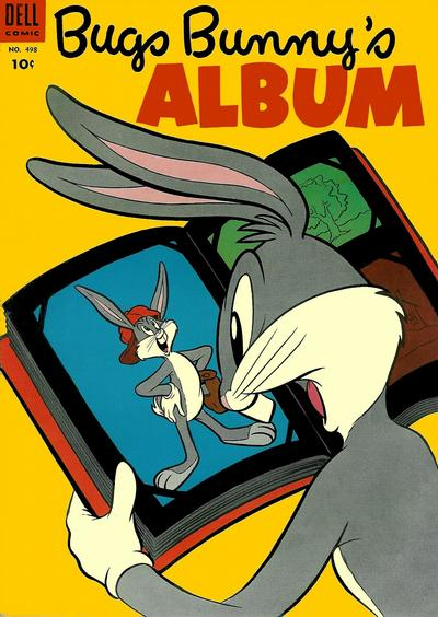 Cover for Four Color (Dell, 1942 series) #498 - Bugs Bunny's Album