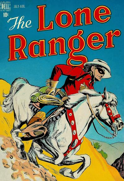 Cover for The Lone Ranger (Dell, 1948 series) #4
