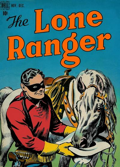 Cover for The Lone Ranger (Dell, 1948 series) #6