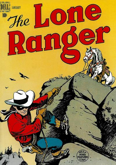 Cover for The Lone Ranger (Dell, 1948 series) #7