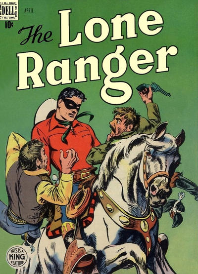 Cover for The Lone Ranger (Dell, 1948 series) #10