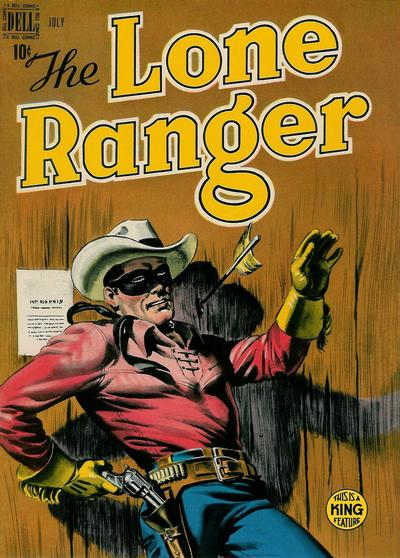 Cover for The Lone Ranger (Dell, 1948 series) #13