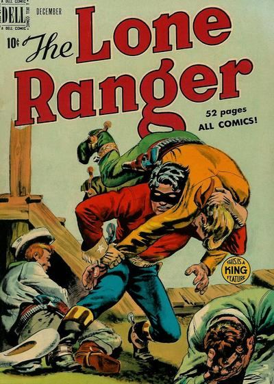 Cover for The Lone Ranger (Dell, 1948 series) #18
