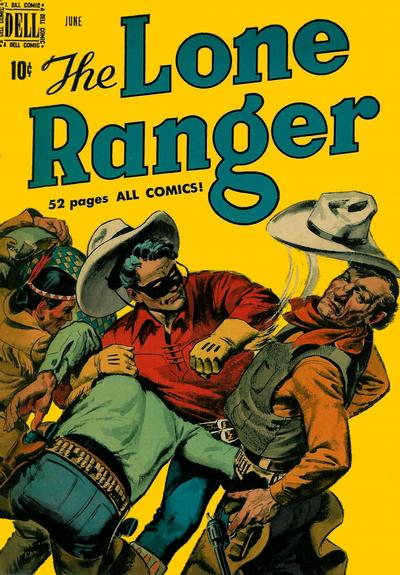 Cover for The Lone Ranger (Dell, 1948 series) #24