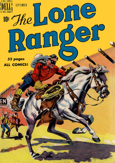 Cover for The Lone Ranger (Dell, 1948 series) #27