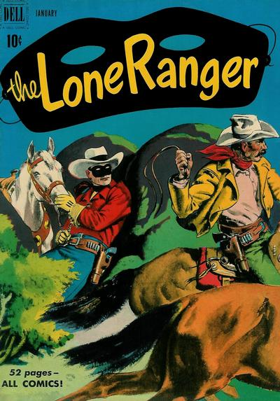 Cover for The Lone Ranger (Dell, 1948 series) #31