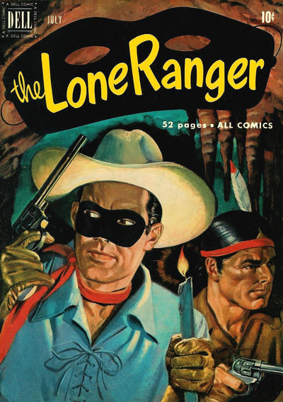 Cover for The Lone Ranger (Dell, 1948 series) #37
