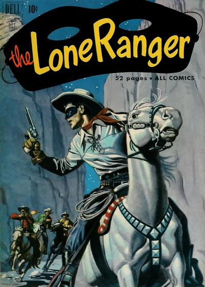 Cover for The Lone Ranger (Dell, 1948 series) #40